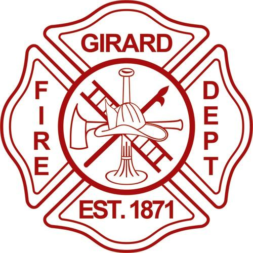 Girard Fire Department Logo