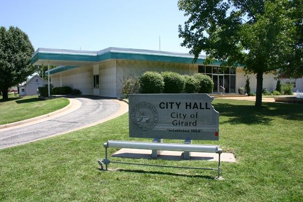 City of Girard City Hall Sign